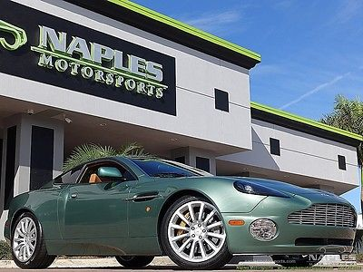 Aston Martin : Vanquish Base Coupe 2-Door 02 aston martin vanquish only 11 k miles great options extremely clean car