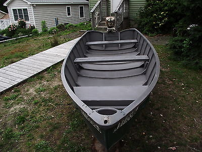 1969 LONE STAR,ALUMINUM BOAT,5.5HP OUTBOARD ,1963 CLINTON CHIEF,ROW BOAT,FISHING