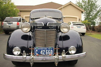 Chrysler : Royal 4 Door 1937 chrysler royal c 16 4 door sedan