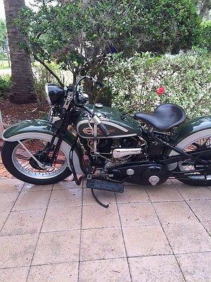 Harley-Davidson : Other 1936 harley davidson vld