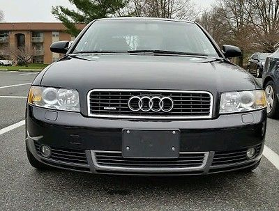 Audi : A4 1.8T 2004 audi quattro a 4 1.8 turbocharged miles 115 544 traction control awd