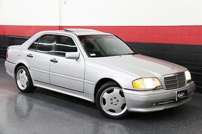 Mercedes-Benz : C-Class 4dr Sedan 1996 mercedes benz c 36 amg only 1 previous owner heated seats xenon lights wow