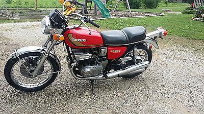 suzuki gt 550 motorcycles for sale. Black Bedroom Furniture Sets. Home Design Ideas