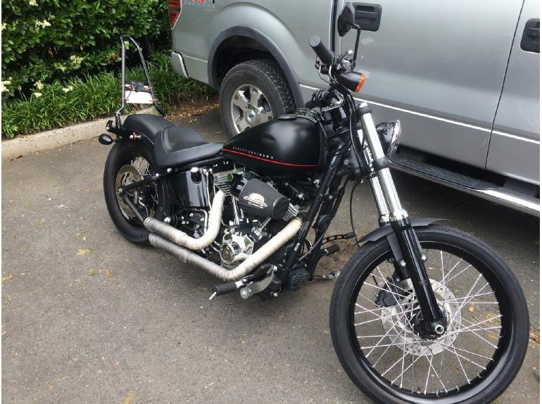 Harley Davidson Blackline Owners Manual