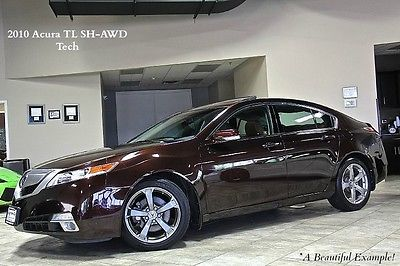 Acura : TL 4dr Sedan 2010 acura tl sh awd technology sedan navigation all wheel drive loaded clean