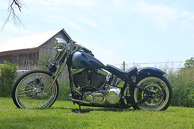 Harley-Davidson : Softail 2002 harley davidson fxsts softail springer hot rod chopper bobber custom