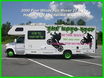 FUN MOVER RV/MOTORHOME/TOY HAULER.27.CLASS C.POWER LIFT.MX READY.BUY NOW.CHEAP.