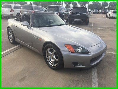 Honda : S2000 Convertible 2001 honda s 2000 convertible 58 k miles manual trans leather low miles