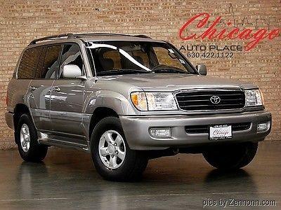 Toyota : Land Cruiser 4WD Luxury 2001 toyota land cruiser 4 wd luxury clean local trade