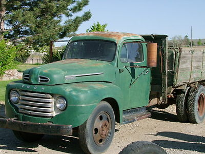 Ford : Other Pickups 2 DOOR 1948 ford 1 1 2 ton truck