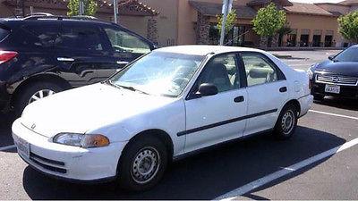 Honda : Civic DX Sedan 4-Door white honda civic sedan