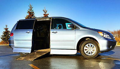 Honda : Odyssey Honda Odyssey Touring 2009 w/ Wheelchair access ramp