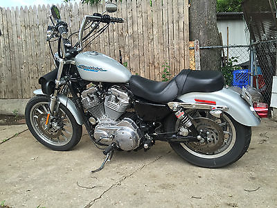 Harley-Davidson : Sportster 04 harley davisdon sportster 883 low miles lowered 14 inch apes screaming eagle