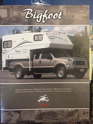Bigfoot camper rvs for sale 2005 bigfoot truck camper 2500 like new publicscrutiny
