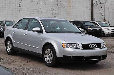 Audi : A4 Luxury Sedan 4-Door Only 52K Heated Leather Seats Sunroof Runs/Drives Like New Rebuilt Like 03 04 05