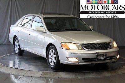 Toyota : Avalon 2001 toyota avalon xls