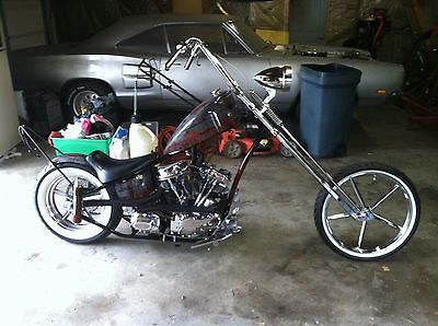Harley-Davidson : Other 2007 custom built chopper harley davidson pan shovel generator lower karata