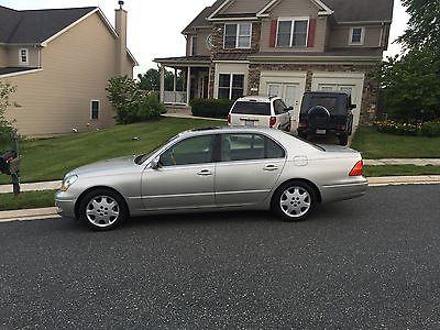 Lexus : LS LS 2003 lexus ls 430 base sedan 4 door 4.3 l