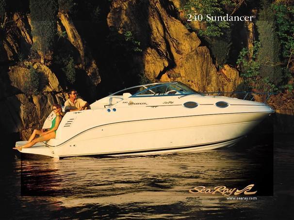 2002 Sea Ray 240 Sundancer