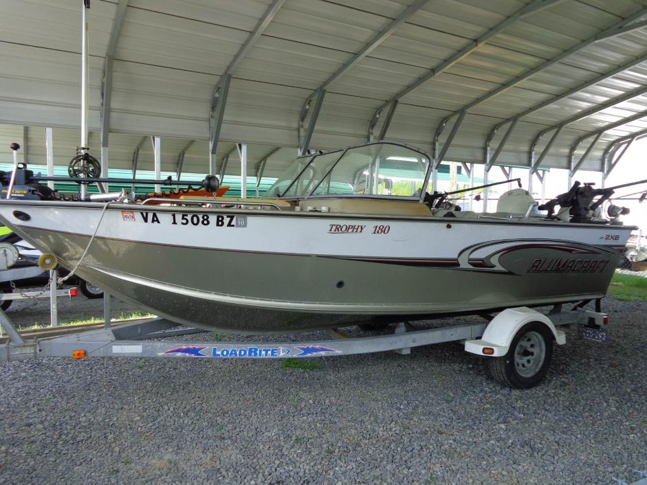 2004 Alumacraft Trophy 180