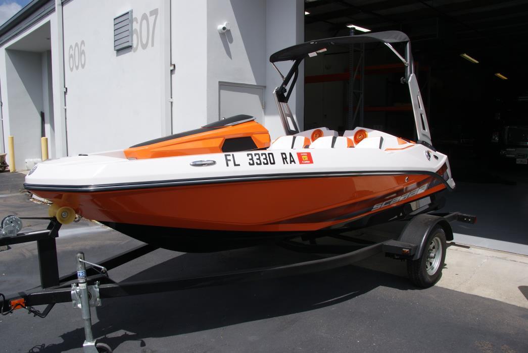 2016 Scarab 16.5 HO Jet Boat