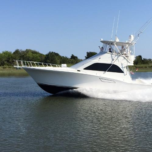 2002 Cabo Yachts 47 Flybridge Sportfish Convertible