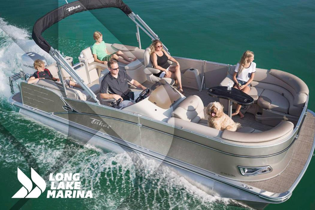 2017 Tahoe Pontoon Cascade Quad Lounge