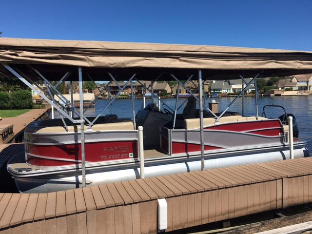 2013 Harris FloteBote Grand Mariner 250