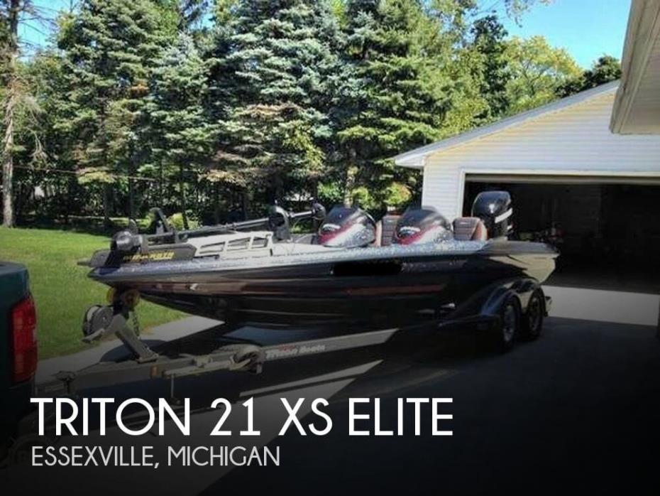 2010 Triton 21 XS Elite