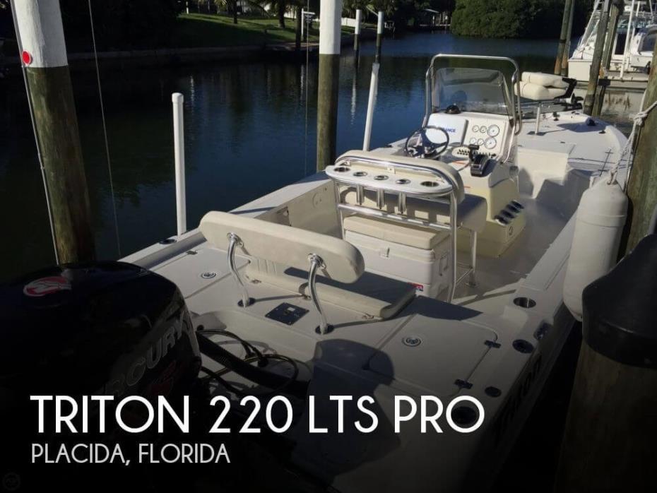 2014 Triton 220 LTS Pro