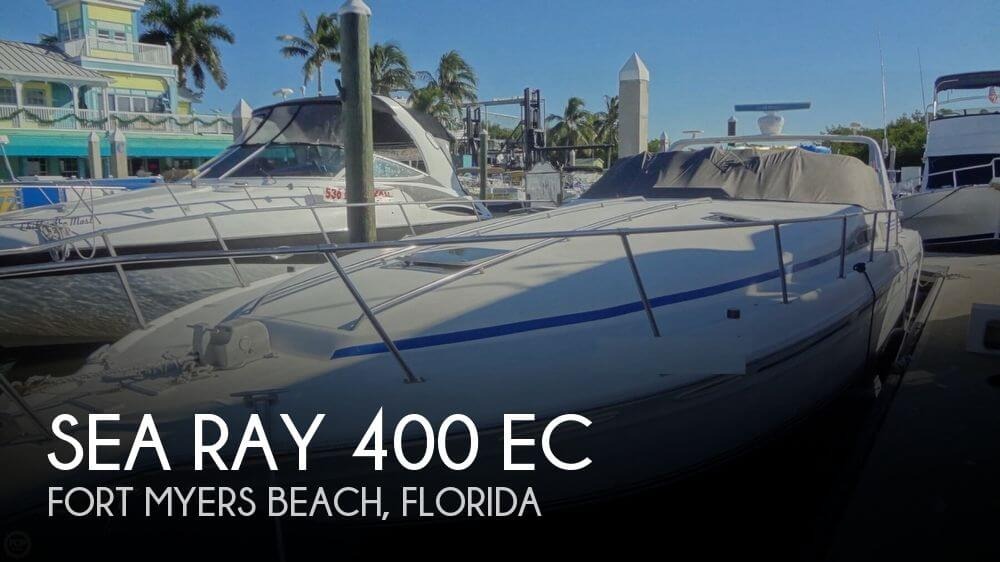 1992 Sea Ray 400 EC