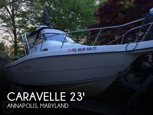 1998 Caravelle 233 Offshore Walkaround
