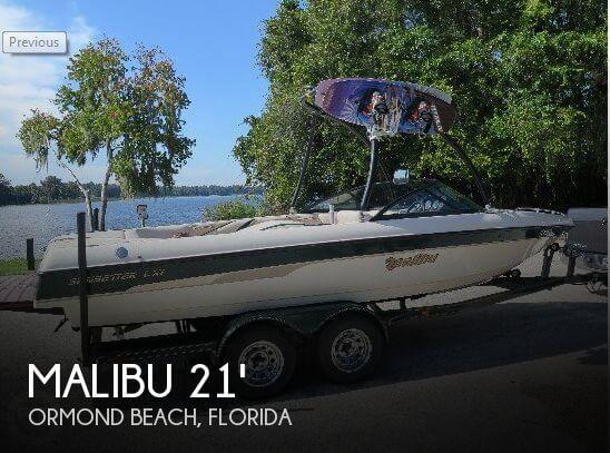 2001 Malibu 21 Sunsetter LXI