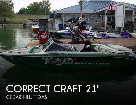 2009 Correct Craft 210 Super Air Team Edition