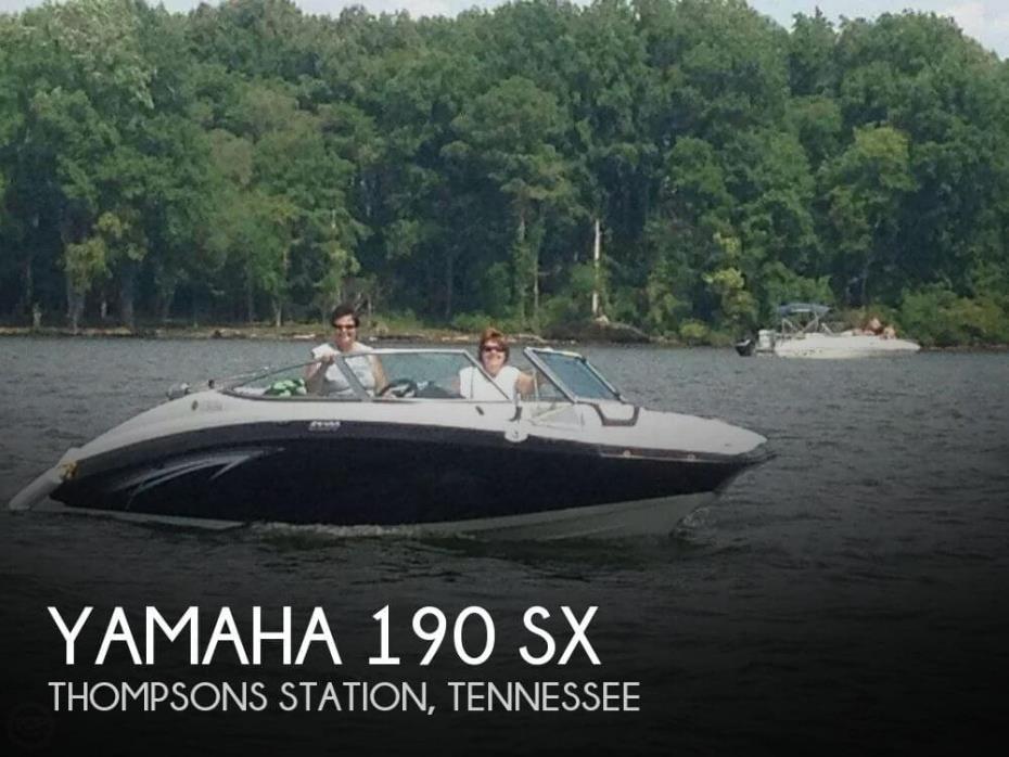 2012 Yamaha 190 SX