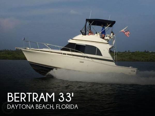 1989 Bertram 33 Flybridge Cruiser II