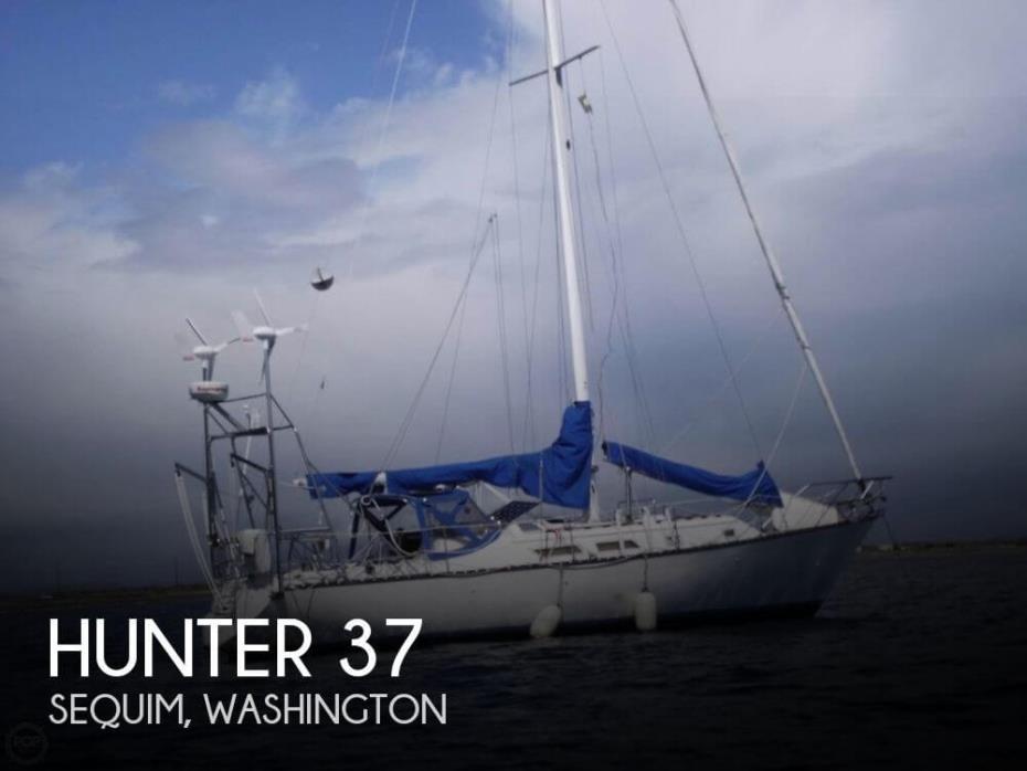 1984 Hunter 37