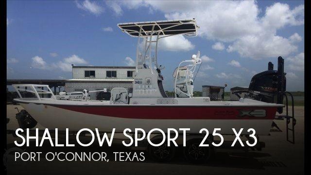 2014 Shallow Sport 25 X3