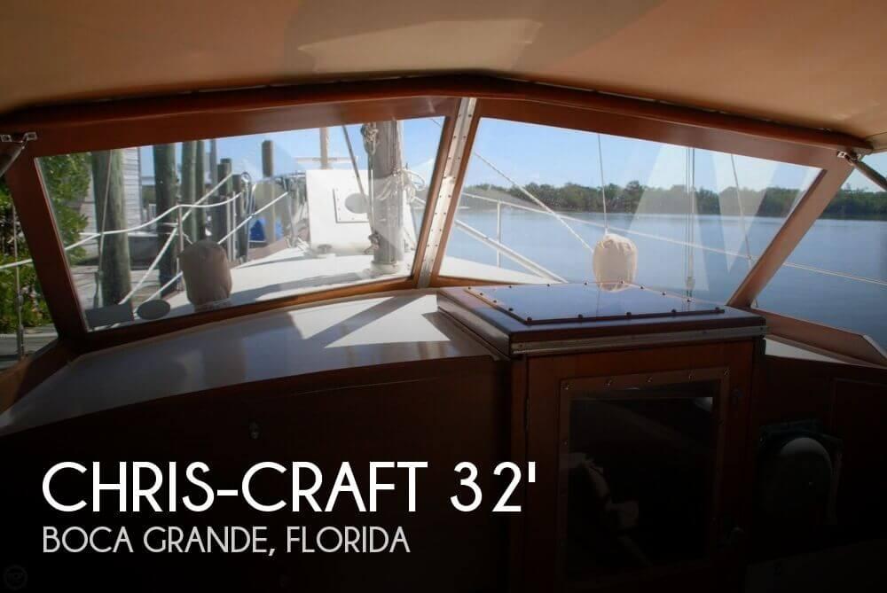 1964 Chris-Craft 35 Sail Yacht