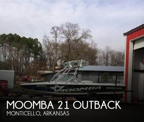2006 Moomba 21 Outback