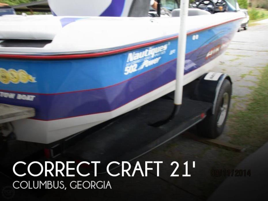 1999 Correct Craft 21 Air Nautique 8.2 L Python