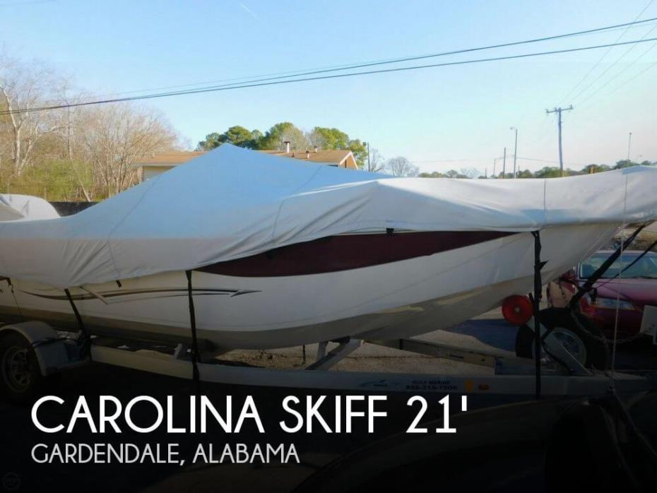 2014 Carolina Skiff 218 DLV
