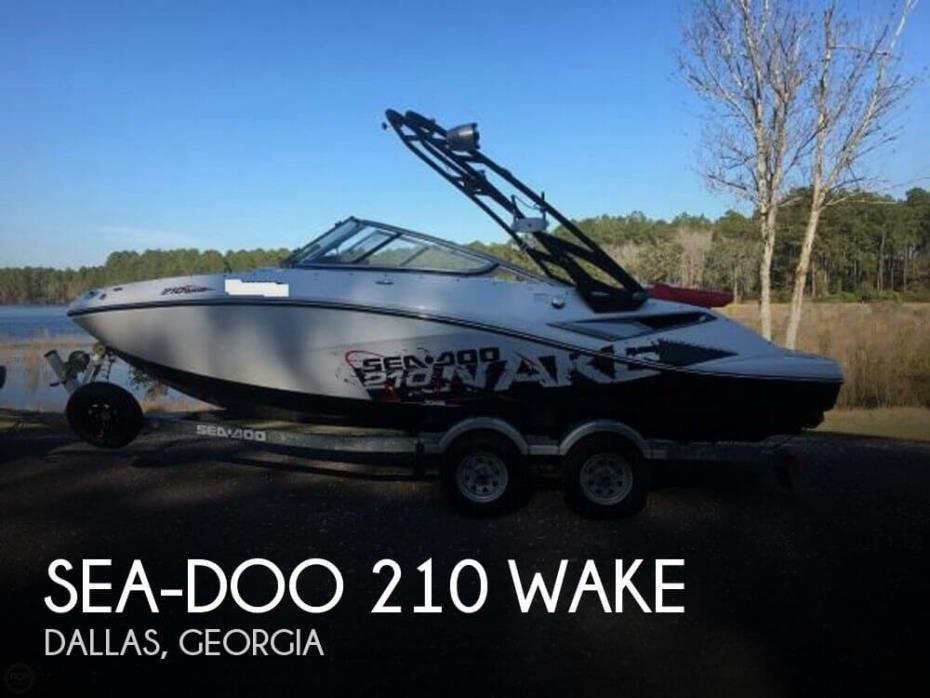 2011 Sea-Doo 210 Wake