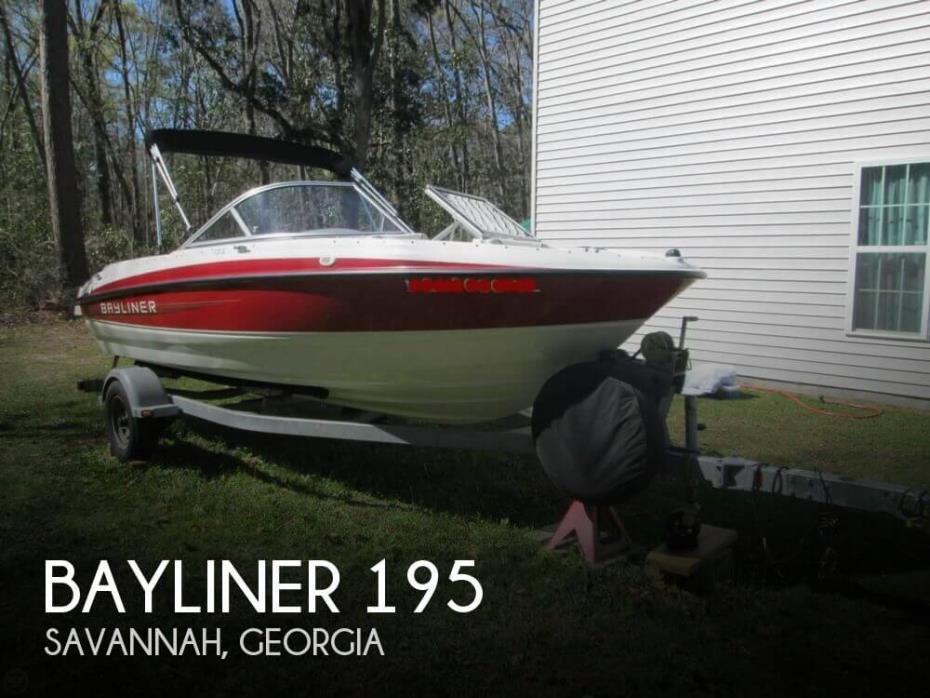 2011 Bayliner 195
