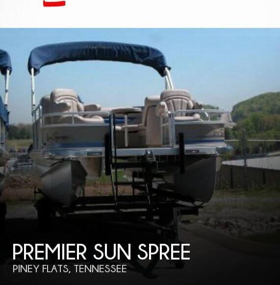2009 Premier Pontoons Sun Spree