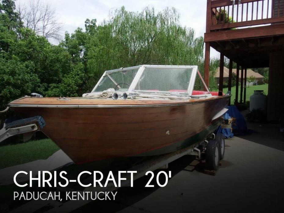 1963 Chris-Craft Caravelle 20