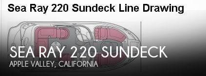 2004 Sea Ray 220 Sundeck