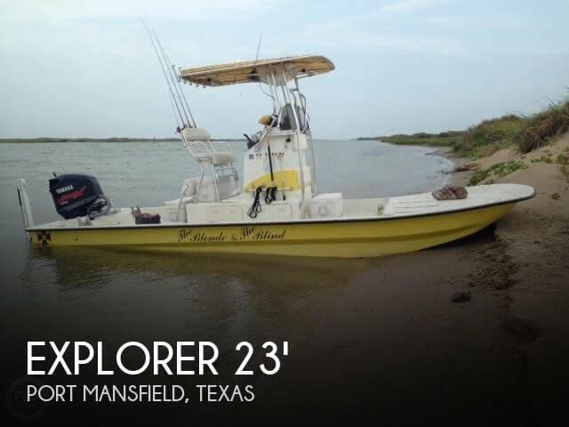 2007 Explorer 25 Flatsmaster