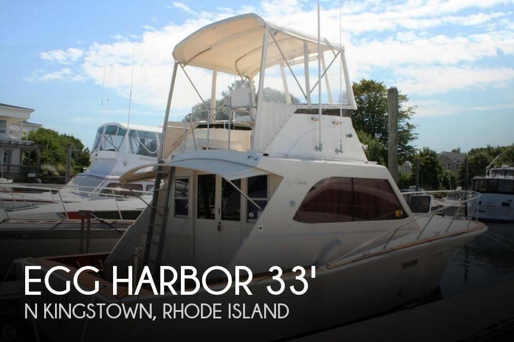 1973 Egg Harbor 33 Sportfisher