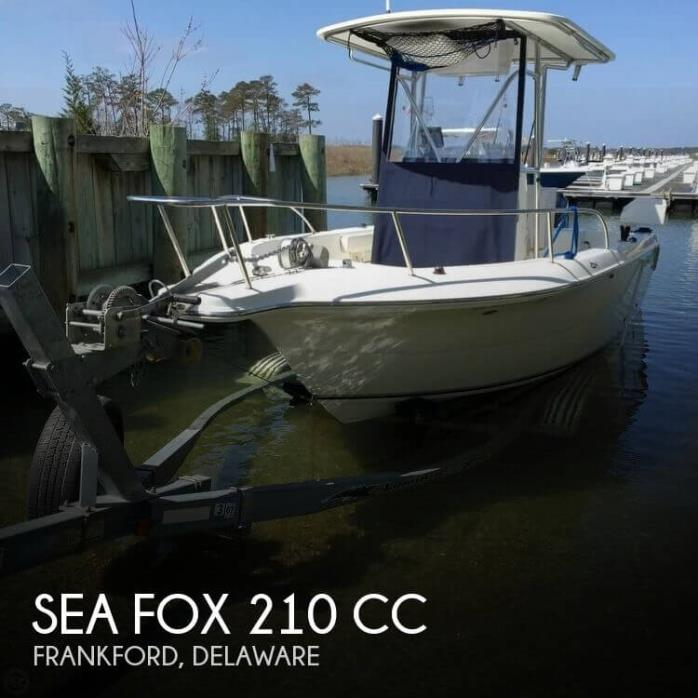 2004 Sea Fox 210 CC